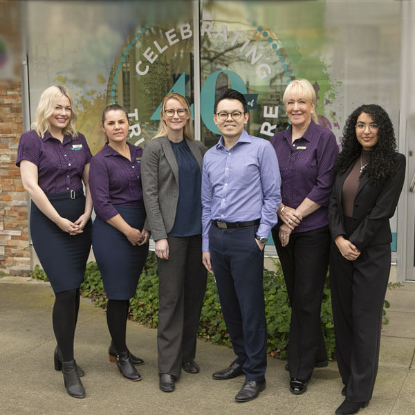 Staff of Kay Street Eye Care in Traralgon, Victoria