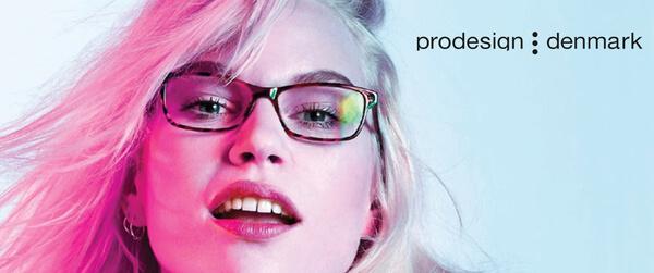 Woman Wearing prodesign Designer Eyeglass Frames