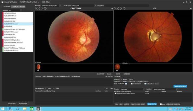Foxfire EHR   Imaging Screen