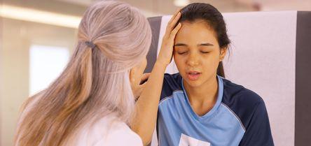 An eye exam