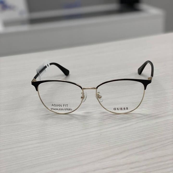 Guess eyeglasses metal