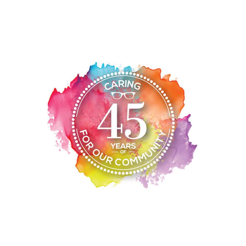 LGO 45year Colour Splash Socials