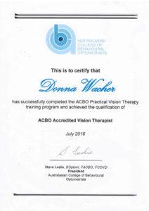 Donna ACBO program certificate 01 212×300