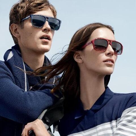 Lacoste sunglasses ad
