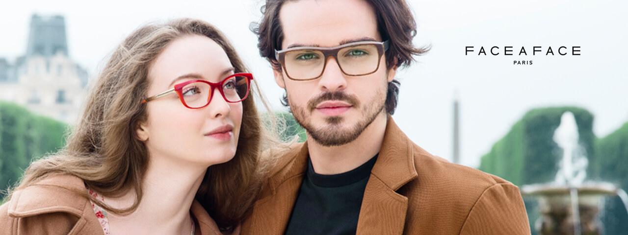 Family Wearing Face a Face Designer Eyeglass Frames