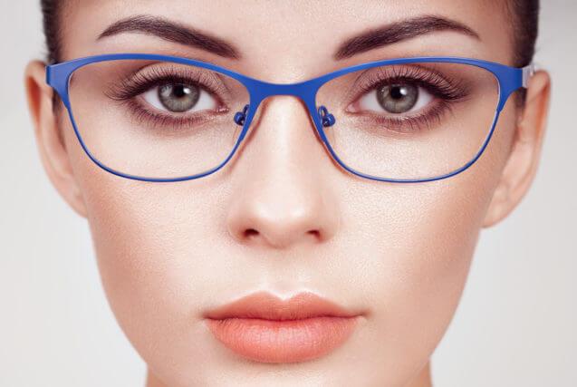 Girl wearing eyeglasses in Arlington