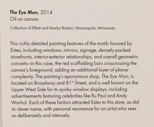 Description of the painting of the front of our New York City eye care practice