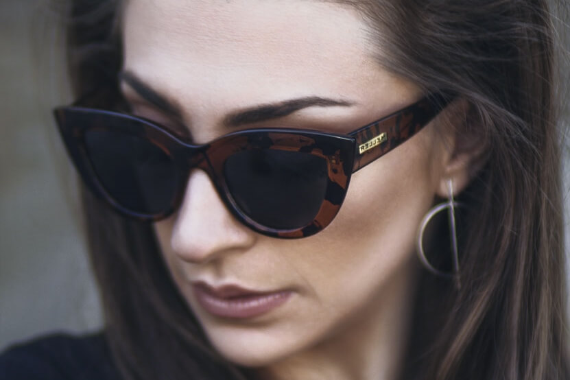 woman sunglasses portrait