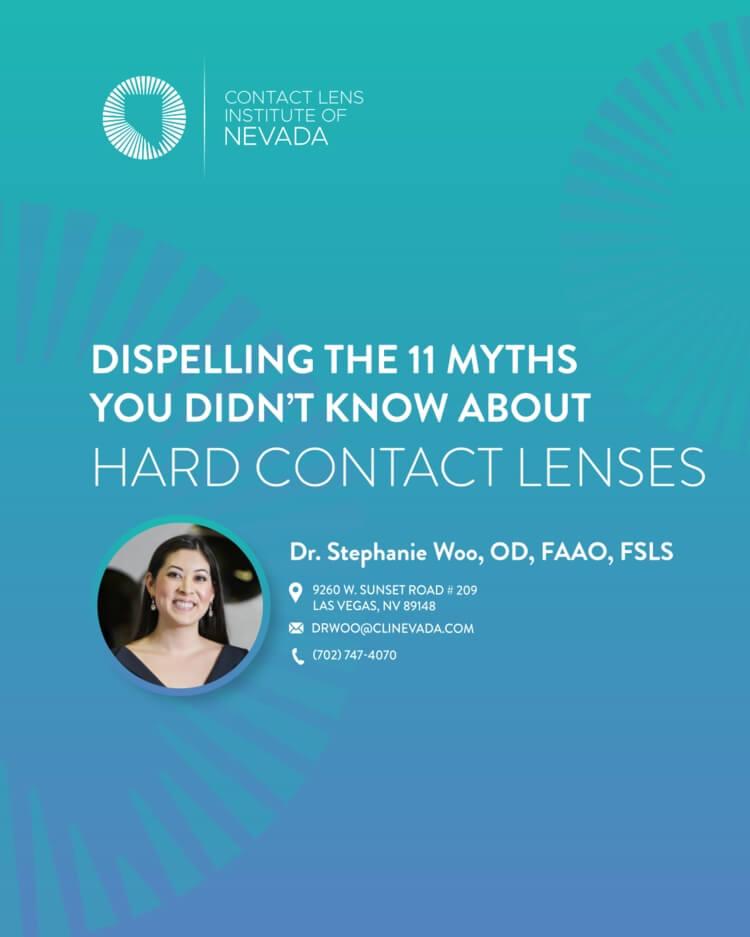 11 myths hard contact lenses
