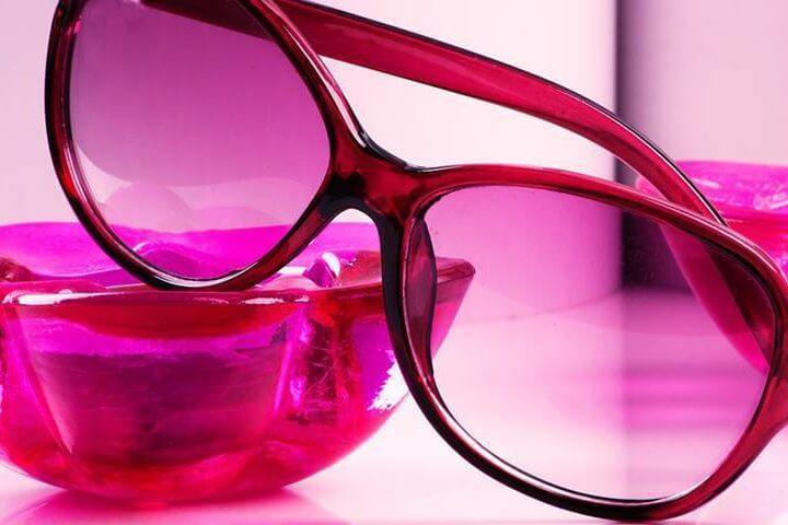 Hot Pink Sunglasses 1280×480