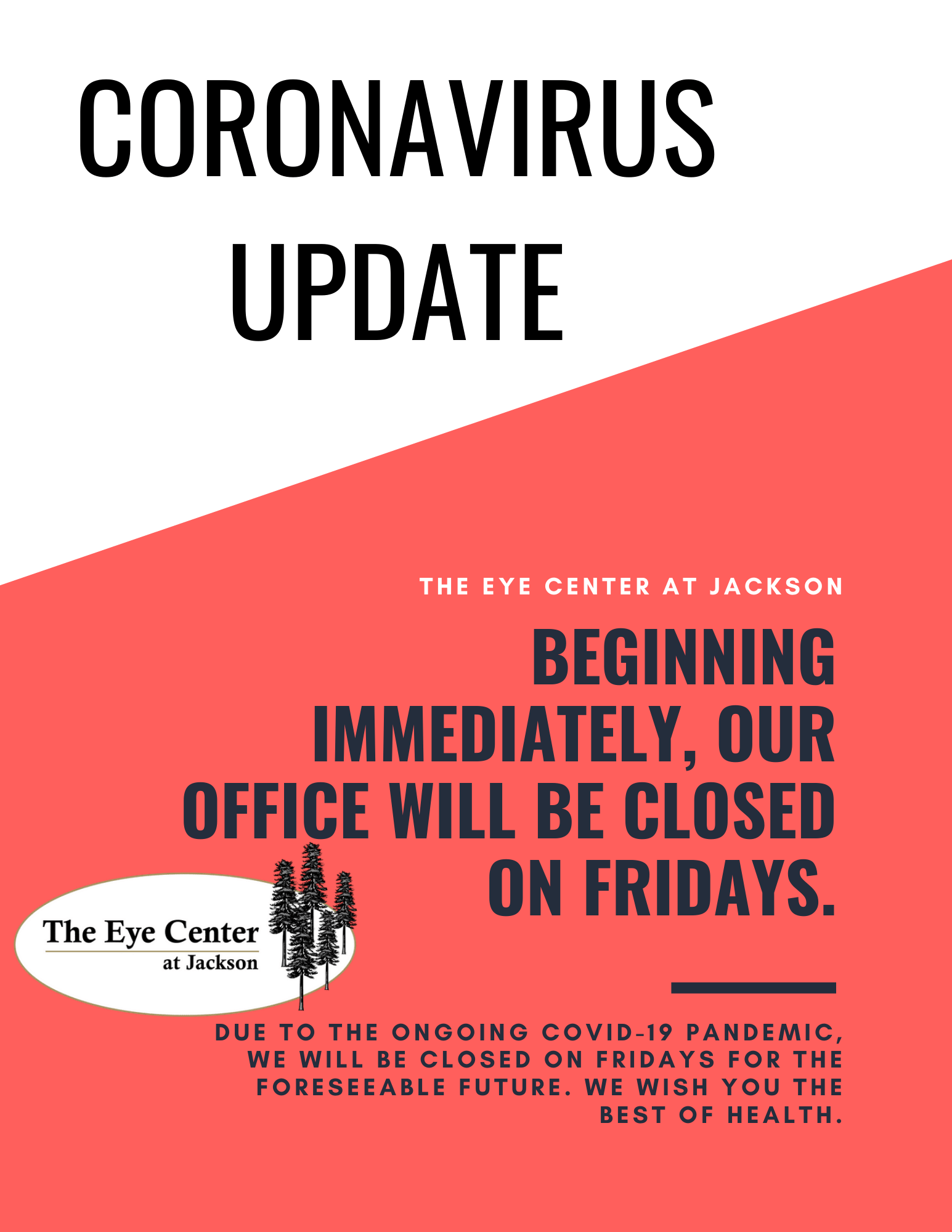 Friday Closures 2