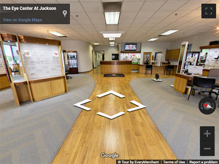 The Eye Center at Jackson Hours Maps and Directions