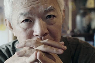 Asian Senior Elderly Man With Ring Serious Thinking And Worry Ab