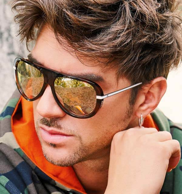 guess man with sunglasses