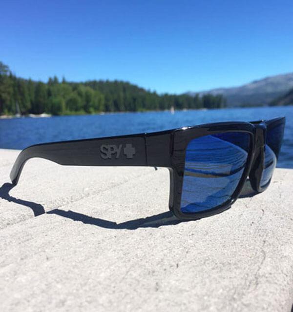 spy optics sunglasses on dock