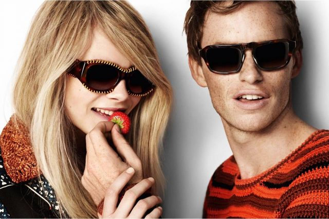 Optometrist, couple with sunglasses in Hartsdale, NY