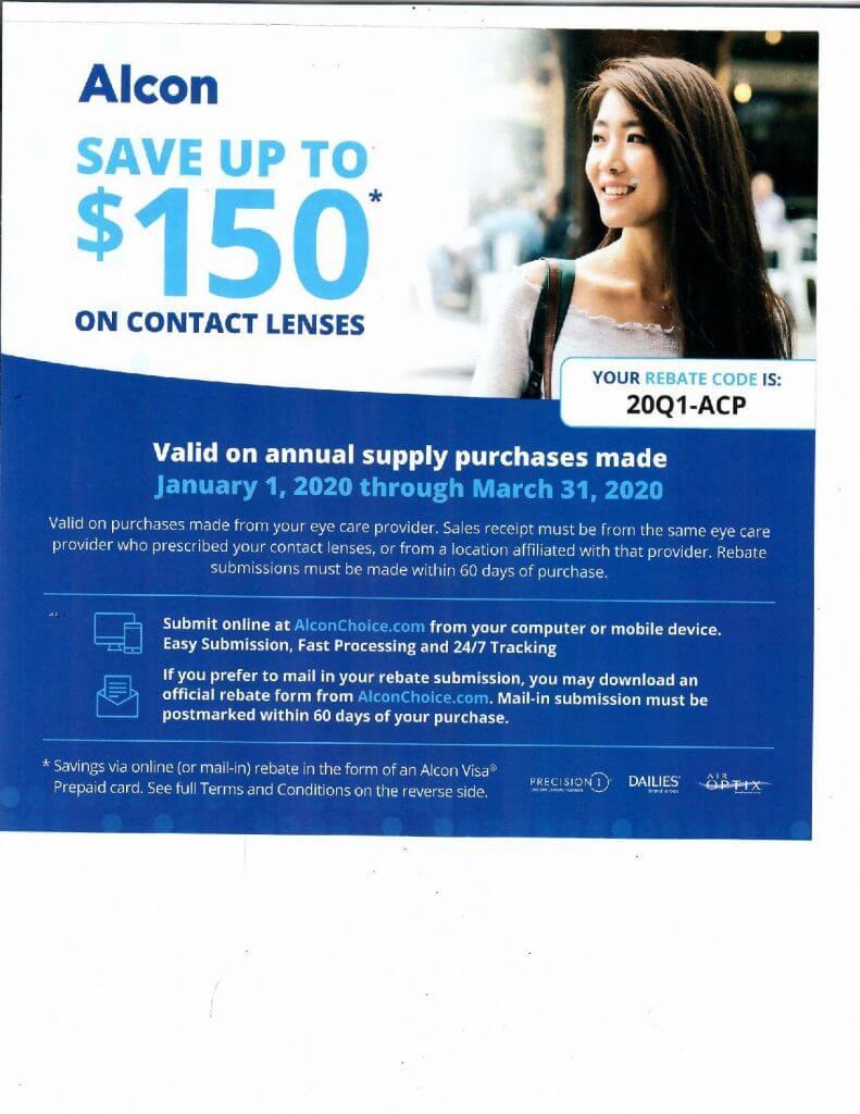 Contact Lens Rebates in San Jose, California