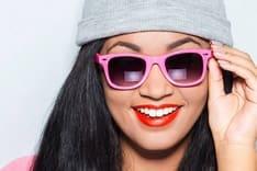 latina teen wearing sunglasses