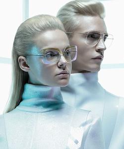 Model wearing Dior sunglasses