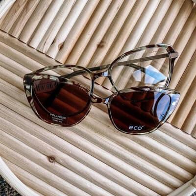 eco two pairs of eyeglasses