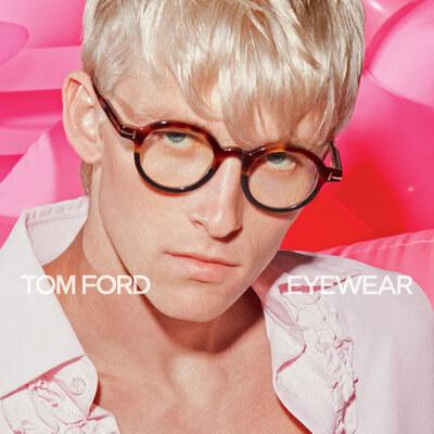 man wearing tom ford eyeglasses
