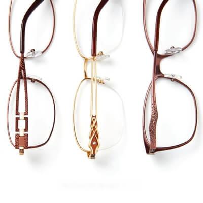 multiple superflex eyeglasses pairs