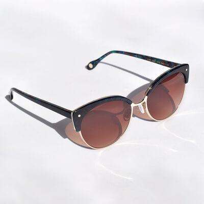 pair of brown tinted fysh sunglasses