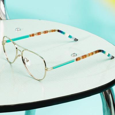 pair of nano vista eyeglasses