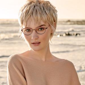 woman wearing kliik eyeglasses