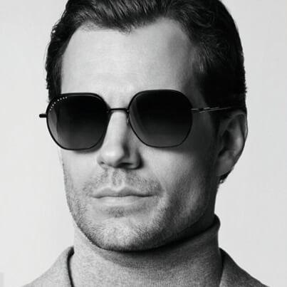 man wearing hugoboss sunglasses
