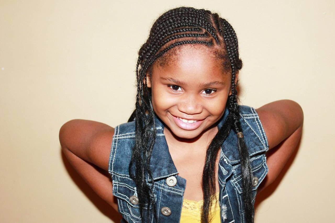 Hapy Child With Braids 1280x853
