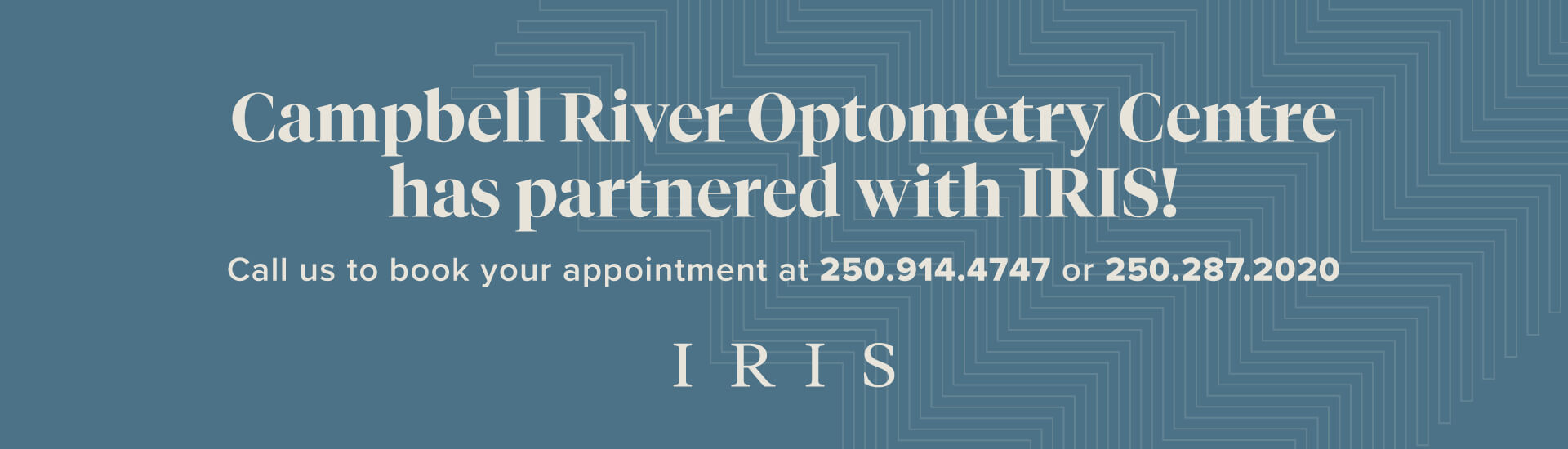 Campbell River Optometry Centre has partnered with IRIS!