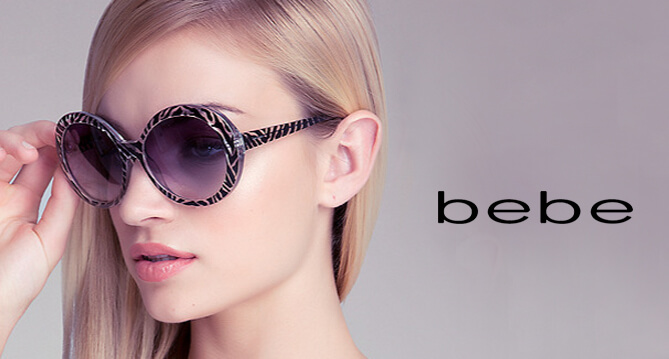 Bebe sunglasses optical store in Chagrin Falls, OH