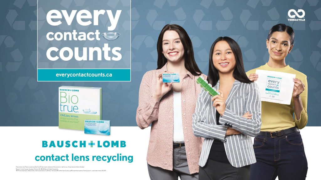 Bausch + Lomb's contact lens recycling program