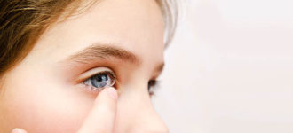 Contact Lens Stuck In Your Eye? in Oak Brook, Illinois