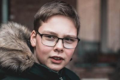 Boy Wearing Glasses - Elmhurst, IL