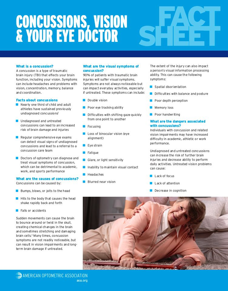 Concussion Fact Sheet
