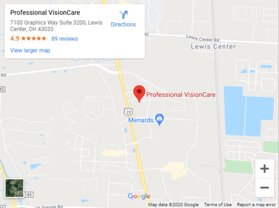 google map lewis center big