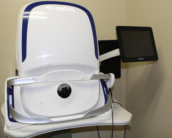 Optomap Retinal Camera California lg