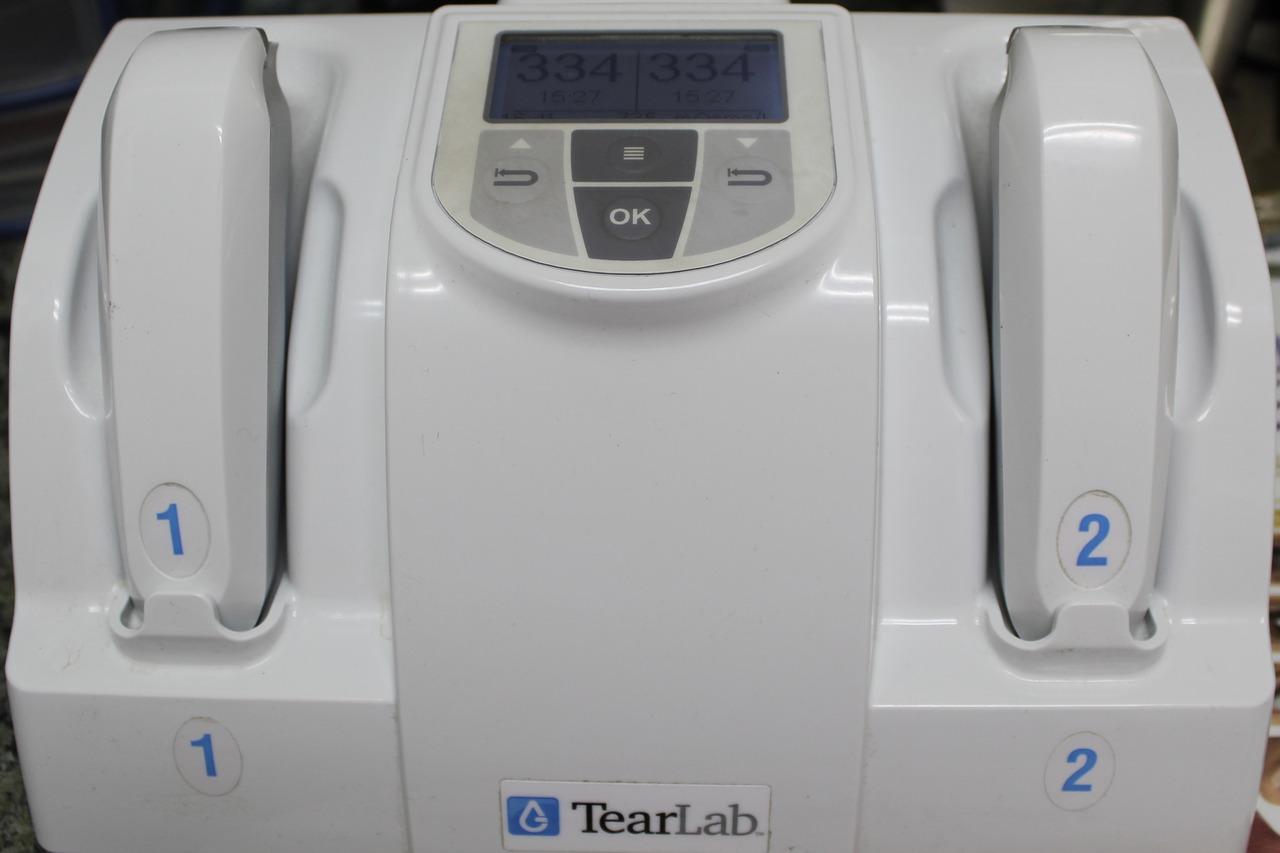 TearLab homepage
