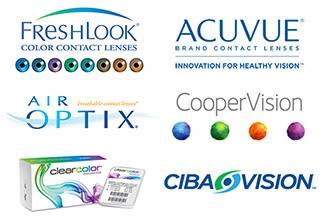 acuvue fresh look contact lenses