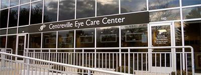 Centerville Eye Care Exterior