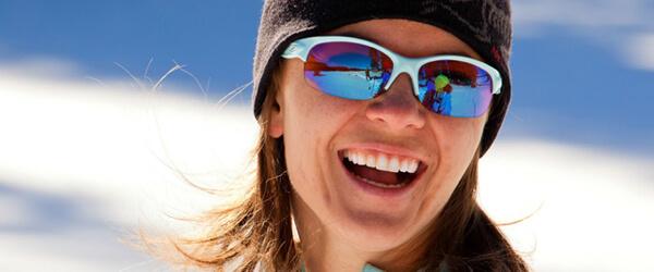Woman Wearing Oakley Designer Eyeglass Frames