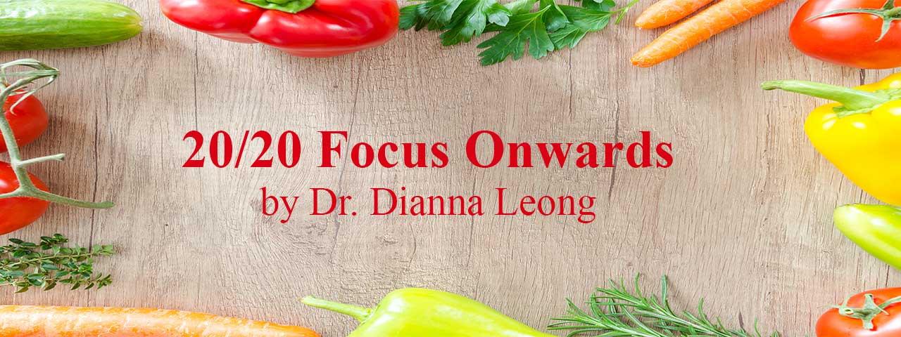 Food good for eyes, 20/20 Focus Onwards
