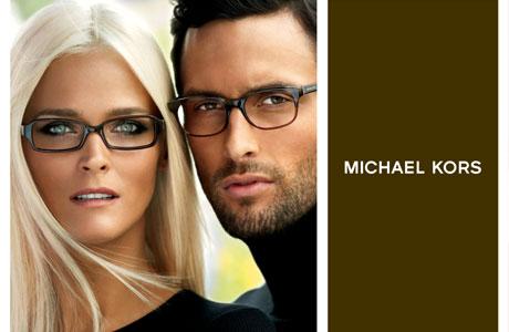 Ad for Michael Kors Eyeglass Frames