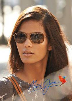 Model wearing Dragon sunglasses