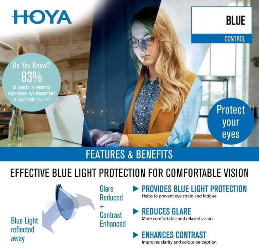 Hoya blue light
