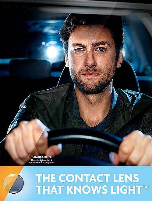 ACUVUE OASYS with Transitions contact lenses in Petrolia   Petrolia Optometry