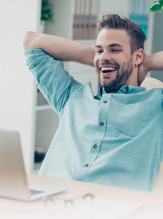 happy man at computer 01
