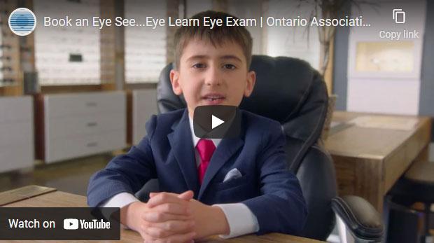 Book an Eye See Eye Learn eye exam video
